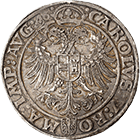Holy Roman Empire, Louis II of Stolberg in the Name of Charles V, Taler 1546 (obverse)