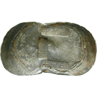Chinese Empire, Qing Dynasty, Sycee Yuan bao (Boat Shape), Value 10 Tael (obverse)