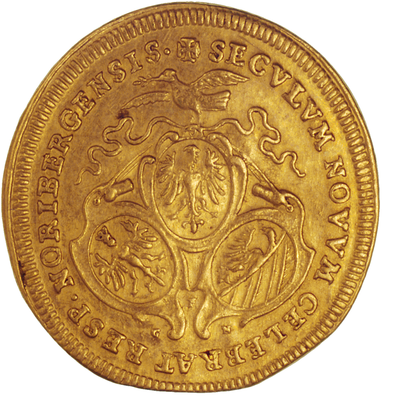 Holy Roman Empire, City of Nuremberg, Ducat (obverse)