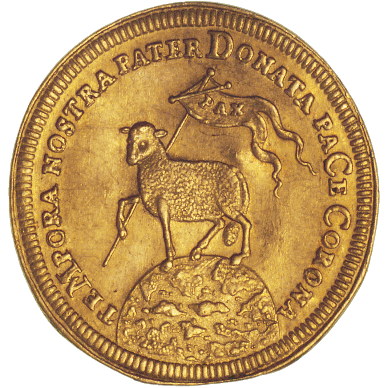 Holy Roman Empire, City of Nuremberg, Ducat (reverse)