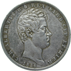 Kingdom of Sardinia-Piedmont, Charles Albert of Savoy, 5 Lire 1836 (obverse)
