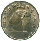 Republic of Austria, 1 Groschen 1931 (obverse)