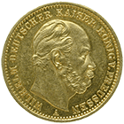 German Empire, Wilhelm I, 20 Mark 1872 (obverse)