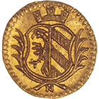 Holy Roman Empire, City of Nuremberg, 1/16 Ducat (obverse)