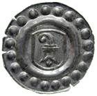 Holy Roman Empire, City of Basle, Rappen (obverse)