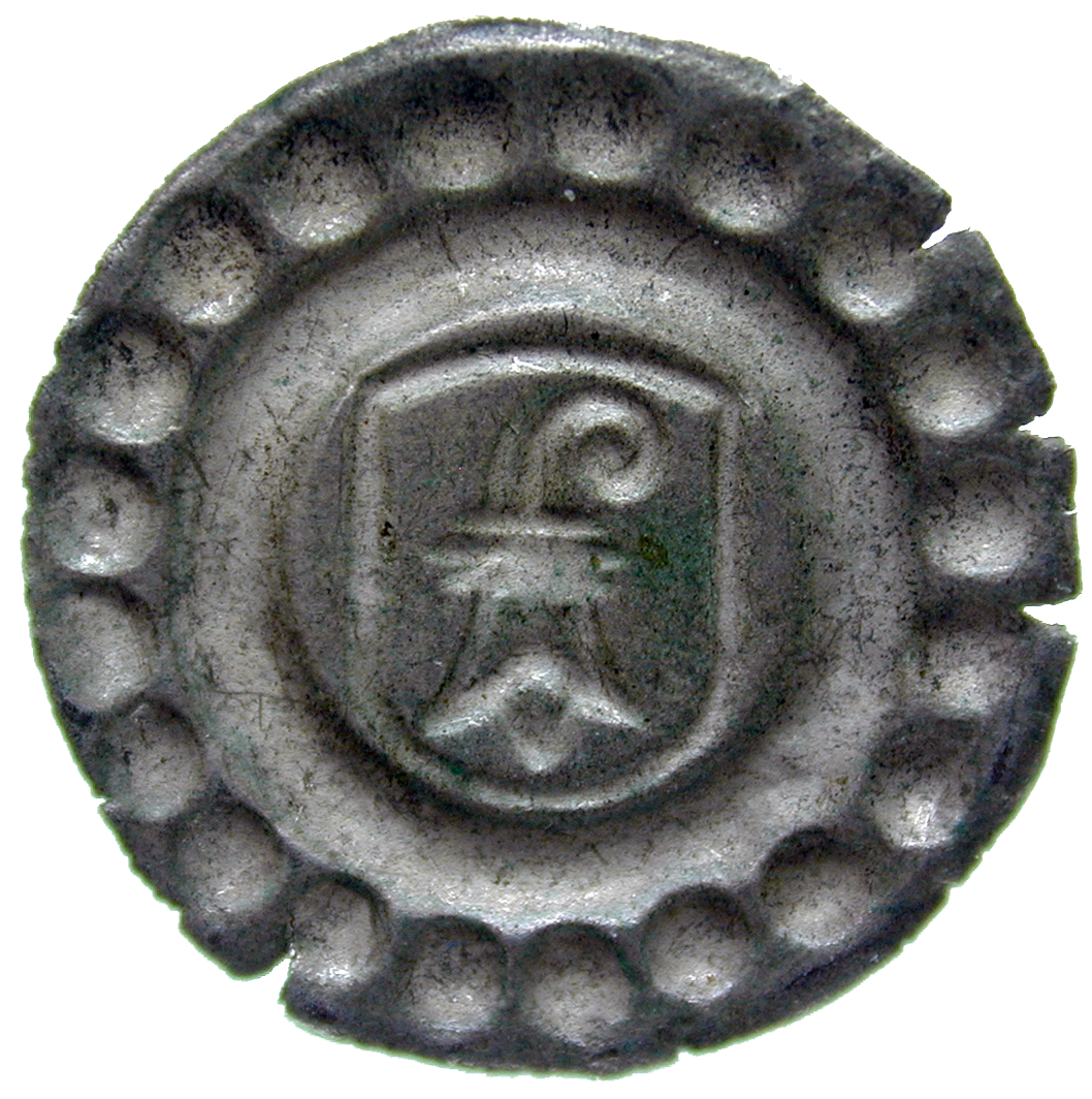 Holy Roman Empire, City of Basle, Rappen (reverse)