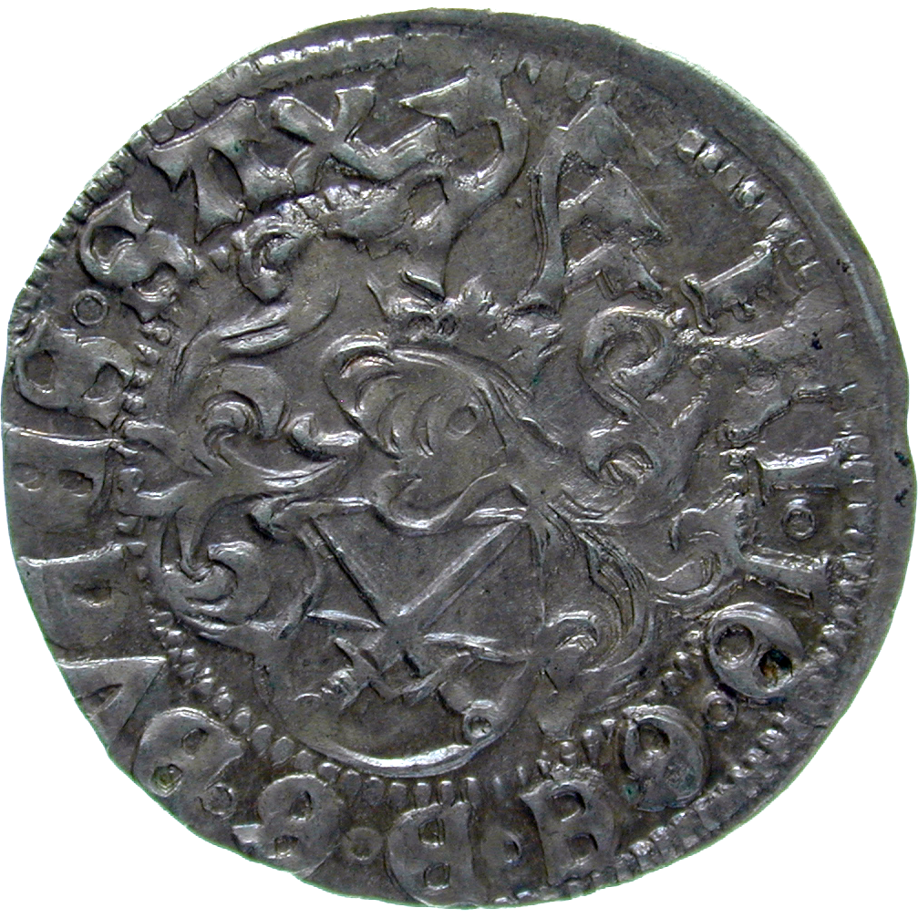 Holy Roman Empire, Electorate of Saxony, Frederick III the Wise, Zinsgroschen (obverse)