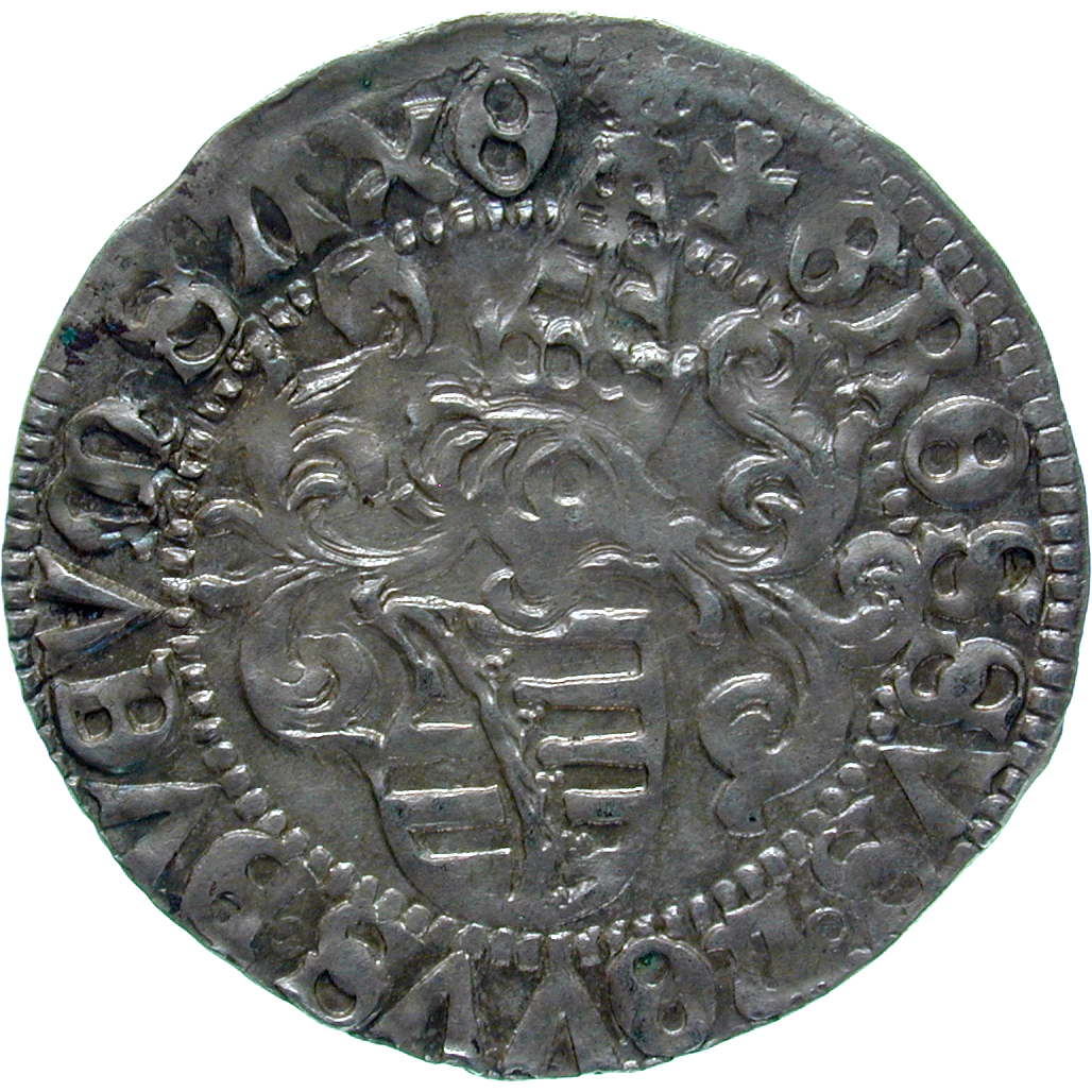 Holy Roman Empire, Electorate of Saxony, Frederick III the Wise, Zinsgroschen (reverse)