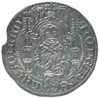 Holy Roman Empire, Archbishopric Cologne, Count Palatine Ruprecht of the Rhine, Albus (obverse)