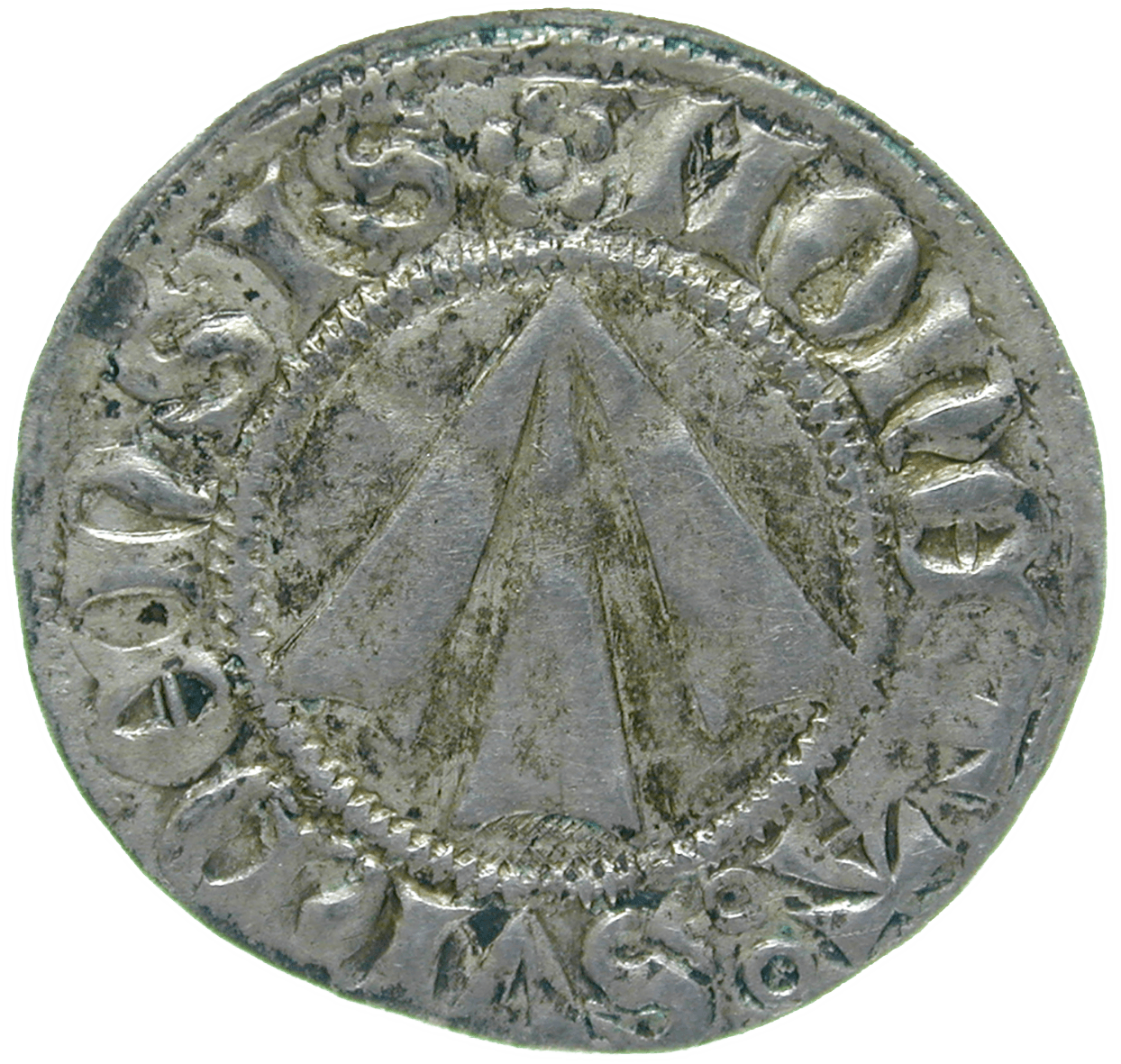 Holy Roman Empire, City of Stralsund, Witten (obverse)