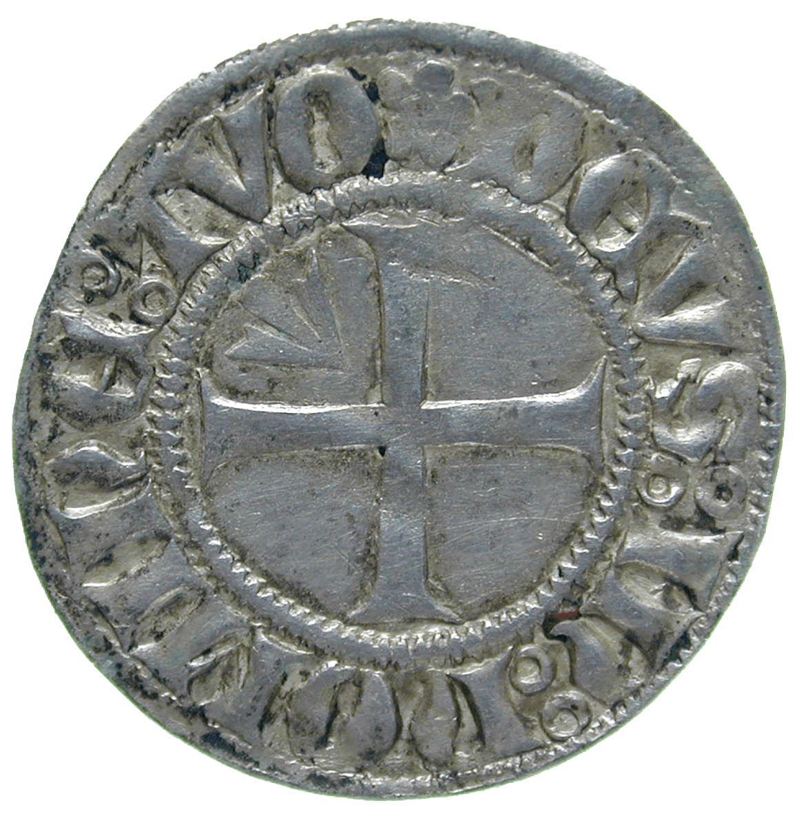 Holy Roman Empire, City of Stralsund, Witten (reverse)