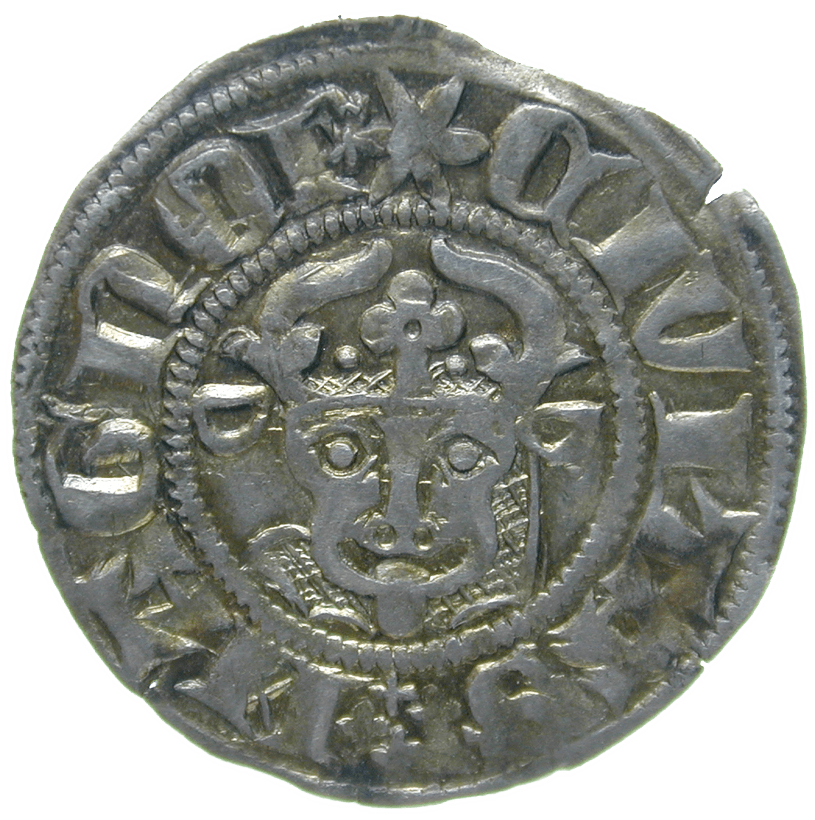 Holy Roman Empire, Mecklenburg, City of Wismar, Witten (obverse)