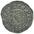Holy Roman Empire, Sachsen-Altenburg, Kipper worth 12 Kreuzers (obverse)