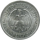 German Empire, Weimar Republic, 5 Reichsmark 1932 (obverse)