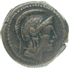 Roman Republic, Anonymous Quartuncia (obverse)