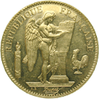 Republic of France, 100 Francs 1904 (obverse)