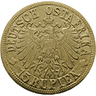 German Empire for German East Africa, William II, 15 Rupees 1916 (obverse)