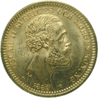 Kingdom of Sweden, Oscar II, 20 Kronor 1889 (obverse)