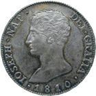 Kingdom of Spain, Joseph Bonaparte, 20 Reales 1810 (obverse)