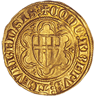Holy Roman Empire, Bishopric of Treves, Kuno II of Falkenstein at Minzenberg, Goldgulden (obverse)