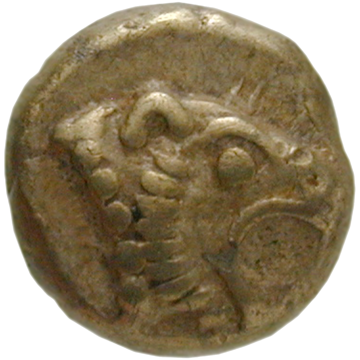 Ionia, supposedly Miletus, Myshemihecte (obverse)