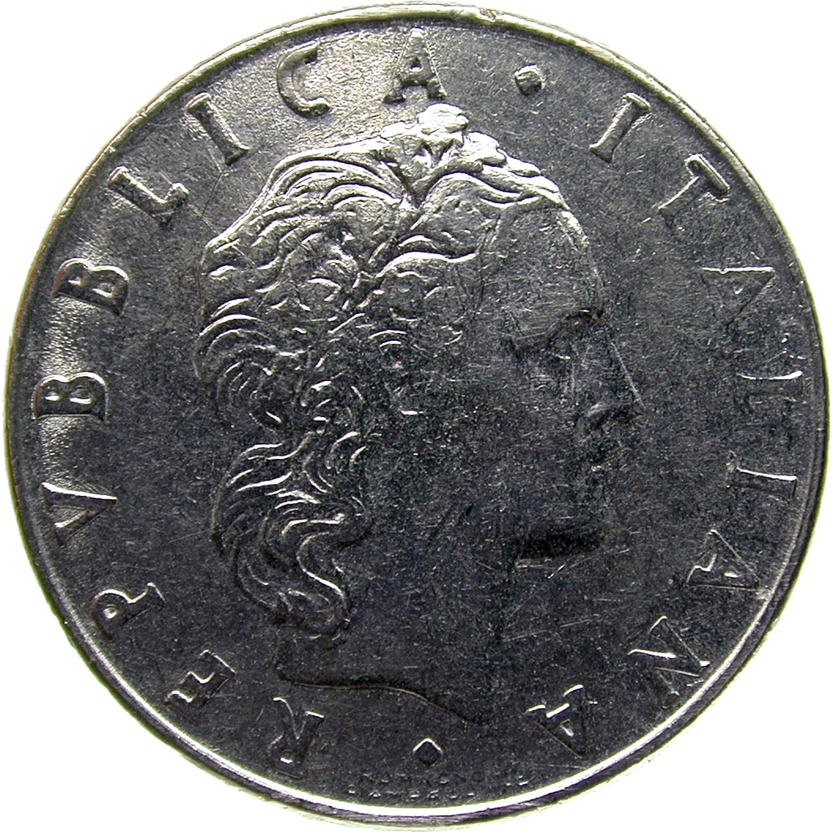 Republic of Italy, 50 Lire 1978 (obverse)