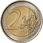 Republic of Italy, 2 Euro 2002 (obverse)