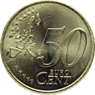 Republic of France, 50 Euro Cent 1999 (obverse)