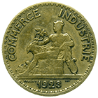 Republic of France, Chambres de Commerce de France, Bon pour 50 Centimes 1923 (obverse)