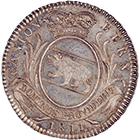 Canton of Berne, Time of Mediation, 1 Franc 1811 (obverse)