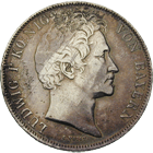 Kingdom of Bavaria, Louis I, 1 Gulden 1841 (obverse)