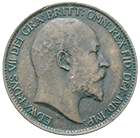 United Kingdom of Great Britain, Edward VII, Farthing 1903 (obverse)