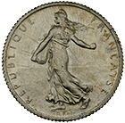Republic of France, 1 Franc 1915 (obverse)