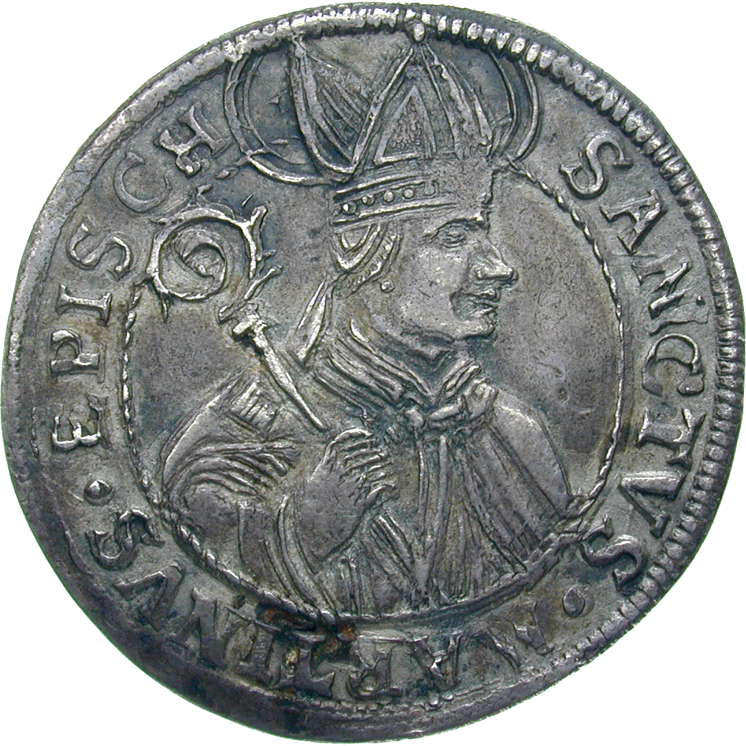 Holy Roman Empire, Joint Issue of Uri, Schwyz and Unterwalden, Dicken (reverse)
