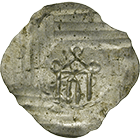 Holy Roman Empire, Fraumünster Abbey of Zurich, Hedwig of Wolhusen?, Half Bracteate (obverse)