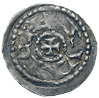 Holy Roman Empire, Fraumünster Abbey of Zurich, Mechtild of Tyrol, Pfennig (obverse)