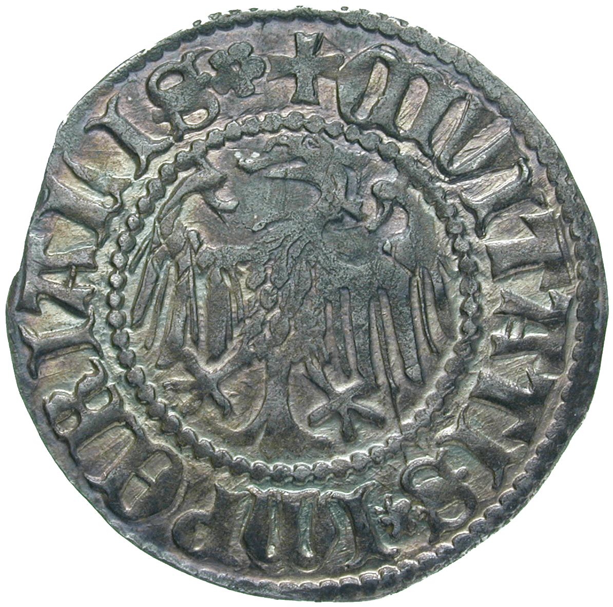 Holy Roman Empire, City of Zurich, Plappart (reverse)