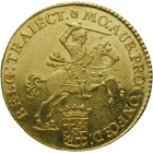 United Netherlands, City of Utrecht, Gouden Rijder of 14 Gulden 1751 (obverse)