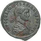 Roman Empire, Diocletian, Medallion (obverse)