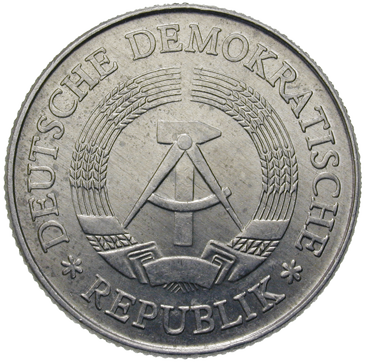 German Democratic Republic, 2 Mark 1978, Berlin (obverse)