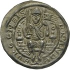 Holy Roman Empire, Brandenburg in the Marken, Otto I, Bracteate (obverse)