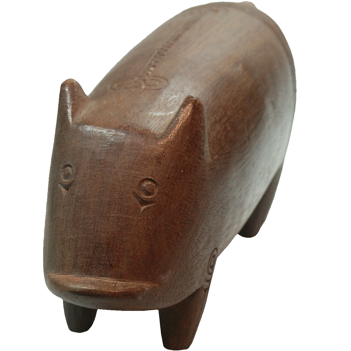 Papua New Guinea, Pig made from Wood (obverse)