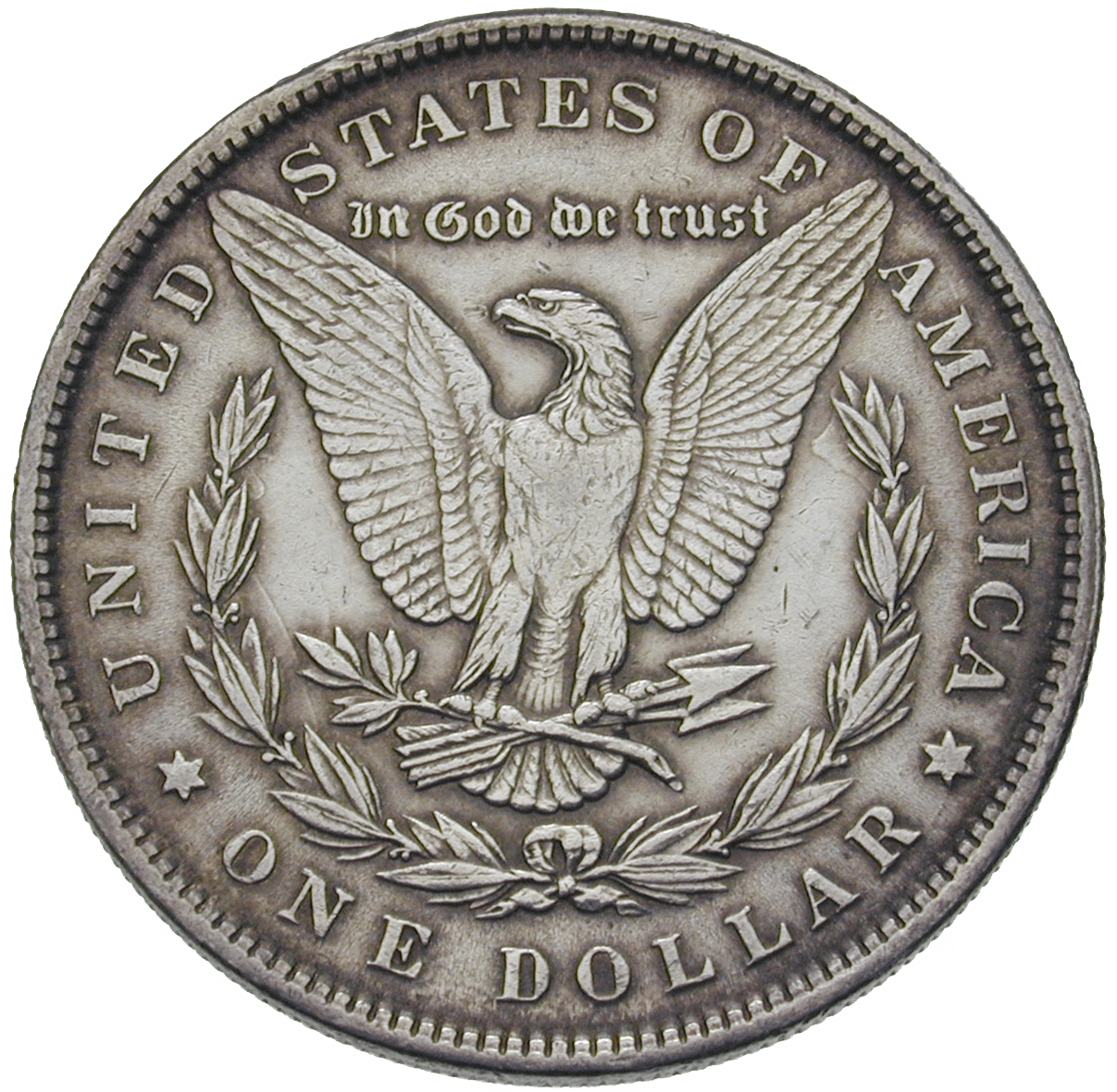 United States of America, 1 Dollar 1884 (reverse)