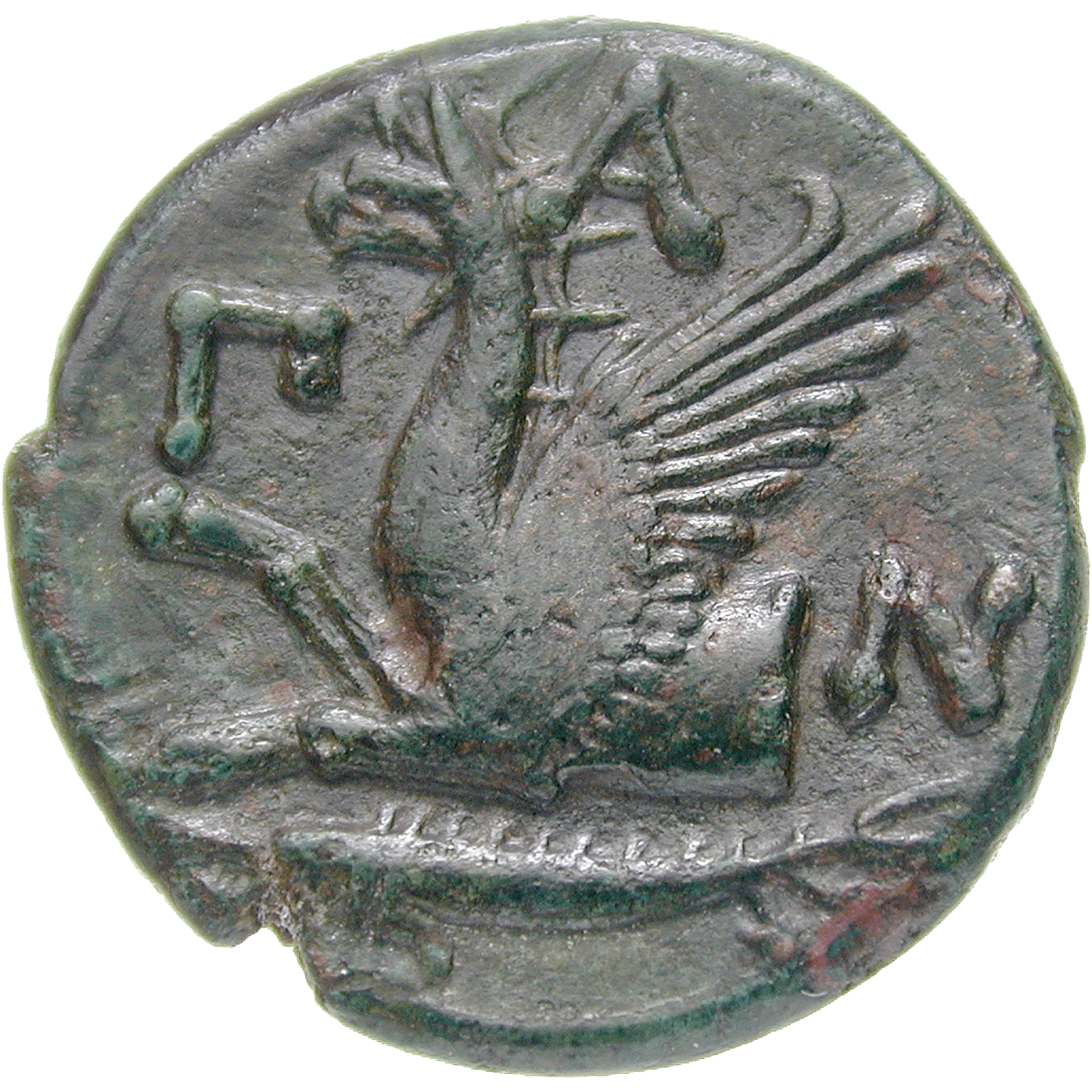 Bosporan Kingdom, Undefined Ruler, Bronze Unit (AE) (reverse)