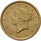United States of America, 1 Dollar 1853 (obverse)