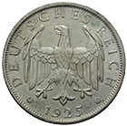 German Empire, Weimar Republic, 2 Reichsmark 1925 (obverse)