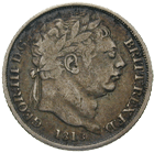 United Kingdom of Great Britain, George III, Sixpence 1818 (obverse)