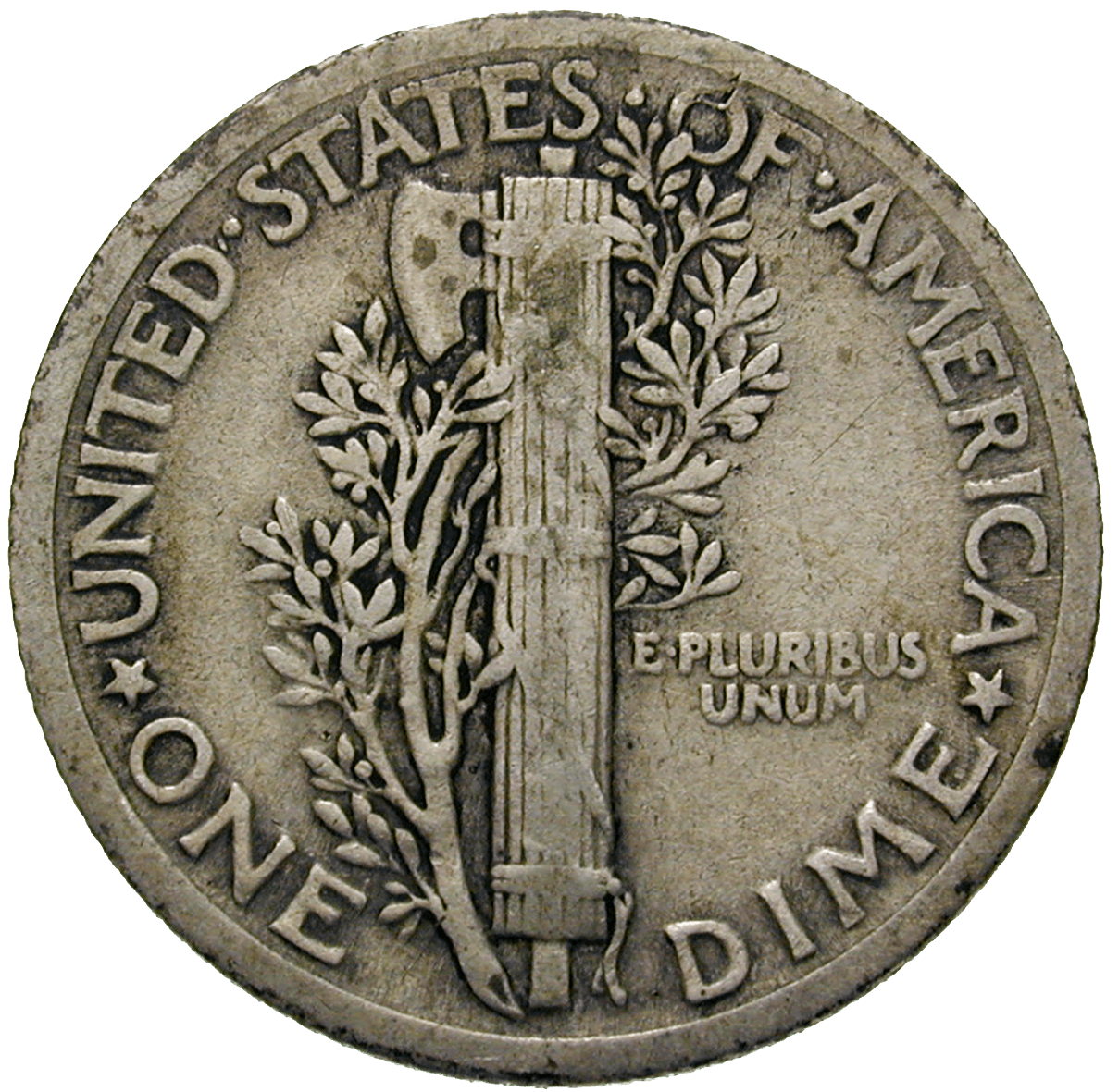 United States of America, 10 Cent 1924 (reverse)
