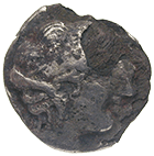 Peloponnesus, Elis, Olympia, Contemporary Forgery of a Drachm (obverse)