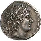 Kingdom of Macedon, Demetrius I Poliorcetes, Tetradrachm (obverse)